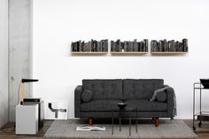 N101 Grey Sofa   ETHNICRAFT   DomésticoShop
