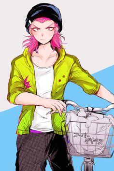 Image de anime, kazuichi, and danganronpa
