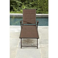 1000 images about pool furniture on pinterest patio for Belmont brown wicker patio chaise lounge