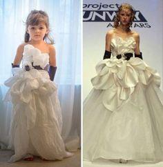 maman et sa fille creent des robes de haute couture en papier 17 292x300   des robes de haute couture en papier par une maman et sa fille de...