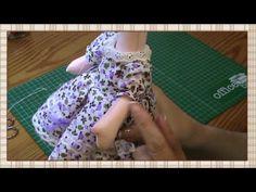 Tutorial: Muñeca completa 5ª parte: Vestido - YouTube