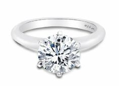 Top Quality 2.00 Carat 7.50 Mm Round Designer Inspired Solitaire. 6 Prong Setting 925 Solid Sterling Silver 4 Mm Band. ALL Sizes From 4,5,6,7,8,9.10 sterling silver rings. $9.99