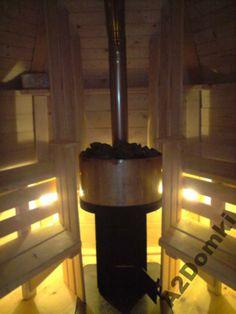Najmniejsza Sauna / Ruska Bania ogrodowa o powierzchni 4,5m2. Może z niej jednocześnie korzystać 4 do 6 osób. Rozgrzewa się ona w 15-20 minut. Więcej informacji na naszej stronie a2domki.pl