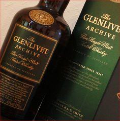 The Glenlivet - pure single malt Scotch whiskey