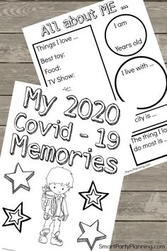 Free printable isolation time capsule pack worksheets for kids in isolation or lock down due to the coronavirus. Children can document their feelings. Educational Activities, Toddler Activities, Learning Activities, Preschool Activities, Educational Leadership, Educational Websites, Preschool Worksheets, Educational Technology, Home Learning