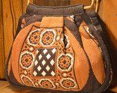 1970s reversible boho purse