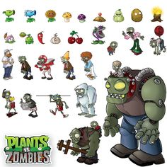 All the zombies… Zombie Birthday Parties, Zombie Party, 9th Birthday, Zombie Video Games, Plantas Versus Zombies, P Vs Z, Plants Vs Zombies 2, Zombie 2, Plant Zombie