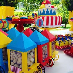 Circo do Benicio Birthday Party Ideas | Photo 1 of 10