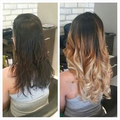 Before after fusion hair extensions and ombr mjs hair before after fusion hair extensions and ombr pmusecretfo Image collections