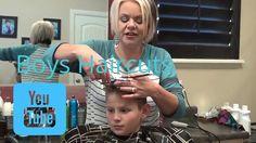 Cute Boys Haircut an