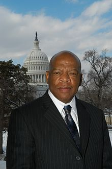 John Lewis, Civil Rights leader and U.S. House of Representatives from Georgia's 5th district