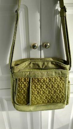 Lug-Travel-Crossbody-Organizer-Shoulder-Bag-Purse-Messenger-Bag-EUC