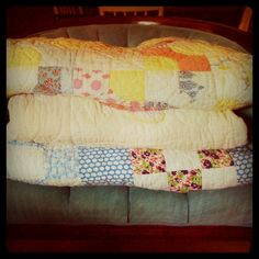 beautiful antique quilts