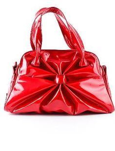 Valentino Patent Handle Bag $695