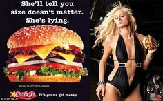 ads objectifying women 2015 | Celebrity spots: Paris Hilton appeared in another controversial Carl's ...