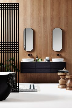 Hotel luxe at home with ISSY by Zuster bathroom furniture - The Interiors Addict