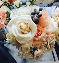 Pretty in pink (or blush)! Custom bouquets designed by 💐 Aren't they just gorgeous? Blush Bouquet, Ottawa, White Roses, Event Decor, Pretty In Pink, Bouquets, Wedding Planner, Events, Instagram Posts