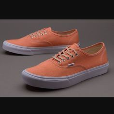 Vans Authentic Worn Out ... about Coral Vans o...