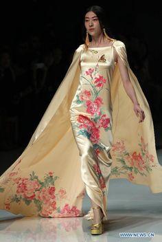 Zhang Zhifeng China Fashion Week ss 2013
