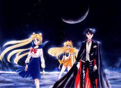 Tags: Bishoujo Senshi Sailor Moon, Tsukino Usagi, Takeuchi Naoko, Sailor Venus, Tuxedo Kamen, Chiba Mamoru, Aino Minako