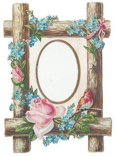 Glanzbilder - Victorian Die Cut - Victorian Scrap - Tube Victorienne - Glansbilleder - Plaatjes : Tischkarte, Menükarte