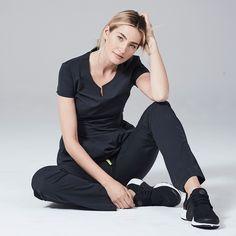 Scrubs - Medical Scrubs and Nursing Uniforms Black Scrubs, Medical Scrubs, Scrub Tops, Normcore, Shopping, Women, Style, Fashion, Swag
