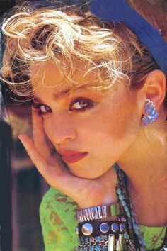 Madonna, 80s - sorry guys, but she was, is and will always be my guilty style inspiration! #TheShirtCompany