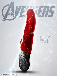 Too great not to share!     'Avengers-Inspired' Vibrators: The 'World's Mightiest' Sex Toys? - DesignTAXI.com