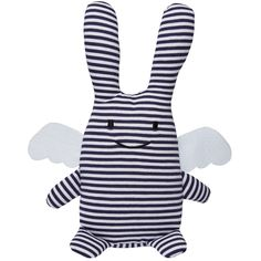 Ange lapin musical marinière (24 cm)