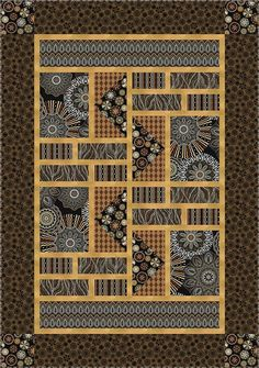 Check out our FREE Amber Dreams quilt pattern using the collection Origins by Jennifer Young from Benartex Designed by Stitched Together Studios Finished size 47 x 67 Japanese Quilt Patterns, Modern Quilt Patterns, Quilt Patterns Free, Pattern Blocks, Modern Quilting, Japanese Fabric, Free Pattern, Big Block Quilts, Lap Quilts