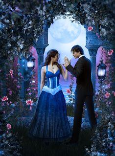 The Vampire Diaries - Damon & Elena