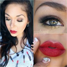 Agape Love Designs: Get The Look Ft. ColourPop Minx Society Collection!