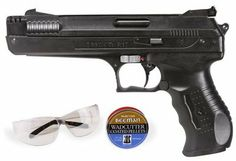 Beeman P17 Pistol Kit air pistol by Beeman. $51.75. Formerly the Marksman 2004.  Outstanding accuracy and velocity. German engineered and designed single-stroke pneumatic. Single-shot pistol produces up to 410 fps. It's totally recoilless and no CO2 is required. Add a dot sight on the 11mm dovetail.... Target-style trigger provides crisp let-off and minimum take up. Custom shaped, finger groove grip helps improve shooting comfort and aids with accuracy. Polymer fr...