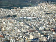 Aerial photo of Thessaloniki city ( a part of the northen east side)