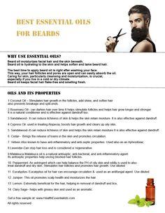 essential oils for beards