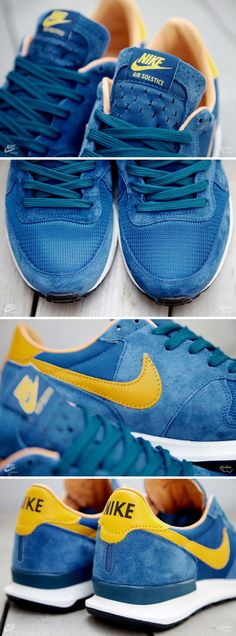 huge selection of 286c8 77852 Nike Air Solstice QS   Court Blue Del Sol Zapatillas Nike, Calzado Nike,  Estilo