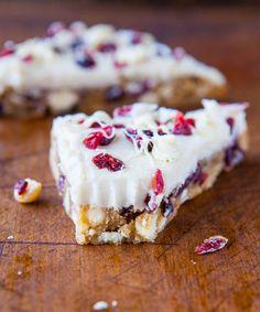 Homemade Starbucks Cranberry Bliss Bars @Averie Sunshine Averie Cooks