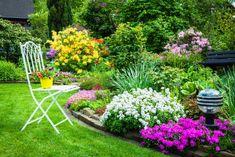 Jardin estilo mediterraneo