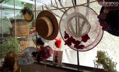 Tocados y sombreros by nila taranco en la 3ª Wedding Experience...