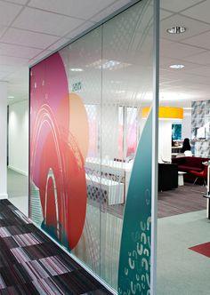 bolton.jpg Office Graphics, Window Graphics, Office Wall Art, Office Walls, Office Decor, Glass Signage, Corporate Interiors, Office Interiors, Office Partitions