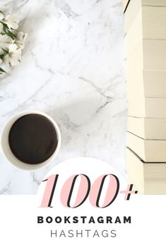 100 Bookstagram Hashtags -- The Riverside Library Book Instagram, Instagram Tips, Instagram Hastags, Book Review Template, Cool Hashtags, Book Photography, Photography Tricks, Starting A Book, Book Review Blogs
