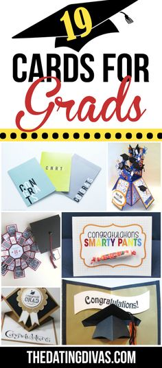 19 Cards for Grads!! Perfect ideas just in time!!