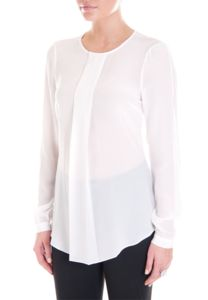 Work blouse perfect with a pencil skirt. By Thurley.