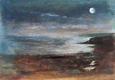 John William Inchbold - Scarborough, North Yorkshire (1871)  Tumblr