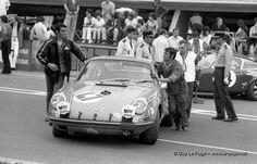 Porsche 911S - Porsche 2.3L Flat-6 - Erwin Kremer - Nicolas Koob 24 H Le Mans 1970