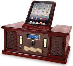 iPad Classic Cabinet Music Center #techgadgets #gadgets