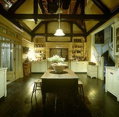 One of my favorite movie kitchens. This is from Practical Magic.