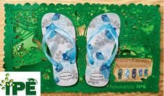 Havaianas is synonymous with sustainability. Learn more about the company's efforts to support conservation, ecological research, and bettering the lives of kids. Shoe Advertising, Advertising Campaign, Shoe Poster, Rubber Flip Flops, Womens Flip Flops, Flip Flop Sandals, Birkenstock, Conservation, Photoshop 6