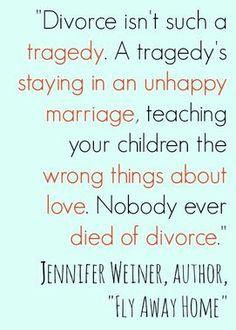 Nobody Ever Died of Divorce