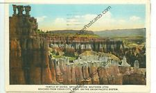 BRYCE CANYON,UTAH-TEMPLE OF OSIRIS-UNION PACIFIC SYSTEM-1928-(RR2-154)